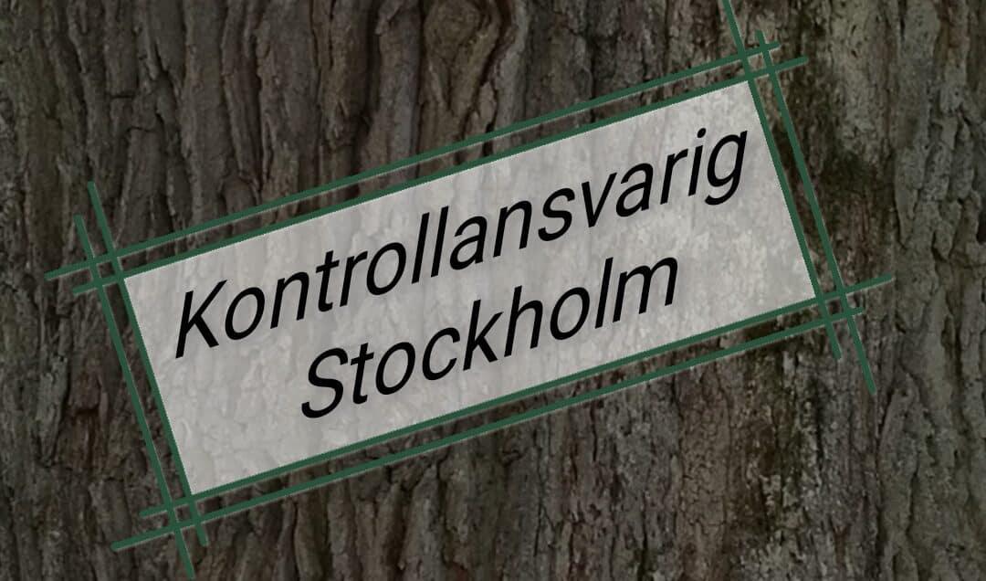 Kontrollansvarig Stockholm